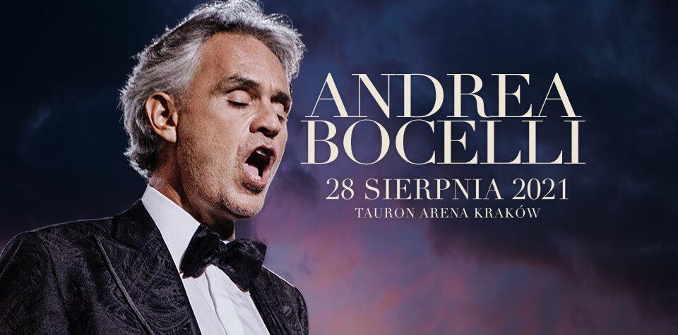 ANDREA BOCELLI – Kraków